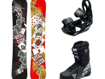Комплект взрослый, сноуборд, крепления, ботинки.